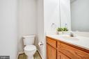 Main level half bath - 9710 W MIDLAND WAY, FREDERICKSBURG