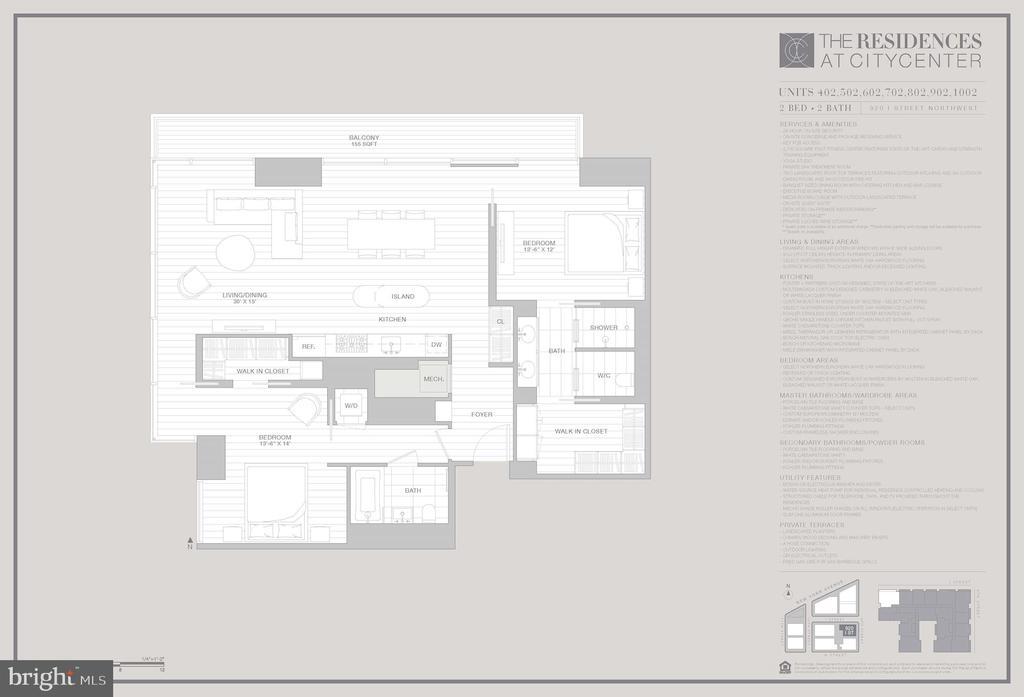 Floorplan - 920 I ST NW #502, WASHINGTON