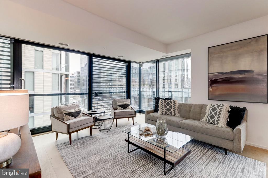Living Room - 920 I ST NW #502, WASHINGTON