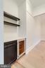 Butler's pantry w/beverage cooler - 10317 BURKE LAKE RD, FAIRFAX STATION