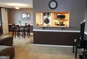 Dining Room and Breakfast Bar area - 5500 HOLMES RUN PKWY #1517, ALEXANDRIA