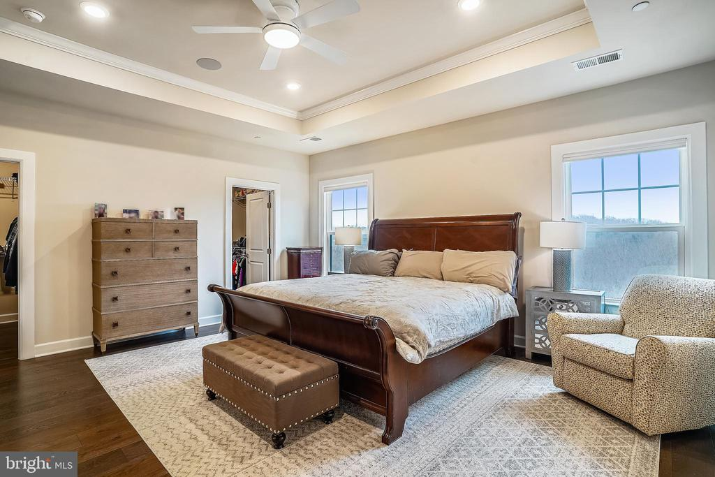 Luxury Master Bedroom - Two Walk-in Closets - 6141 FALLFISH CT, NEW MARKET