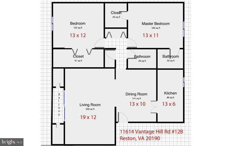 - 11614 VANTAGE HILL RD #12B, RESTON