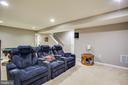 Basement Recreation Room - 24 IVY SPRING LN, FREDERICKSBURG
