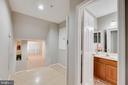 View from bedrooms toward Living Room - 287 S PICKETT ST #202, ALEXANDRIA