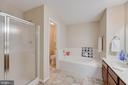Master Bath with soaking tub and sep shower - 287 S PICKETT ST #202, ALEXANDRIA