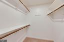 Huge walk-in closet in the Master Bedroom - 287 S PICKETT ST #202, ALEXANDRIA