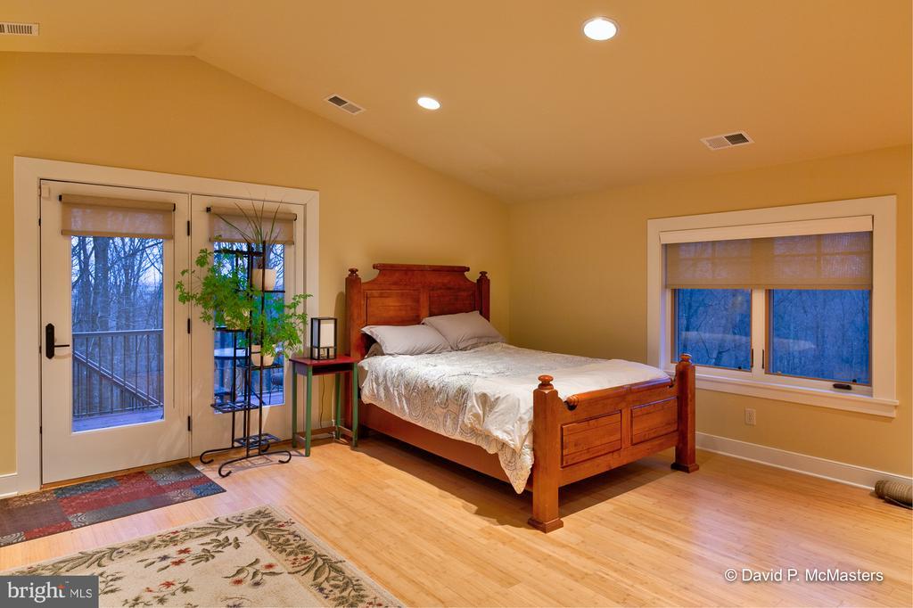 Upper floor bedroom opens to deck - 212 CICADA DR, MARTINSBURG