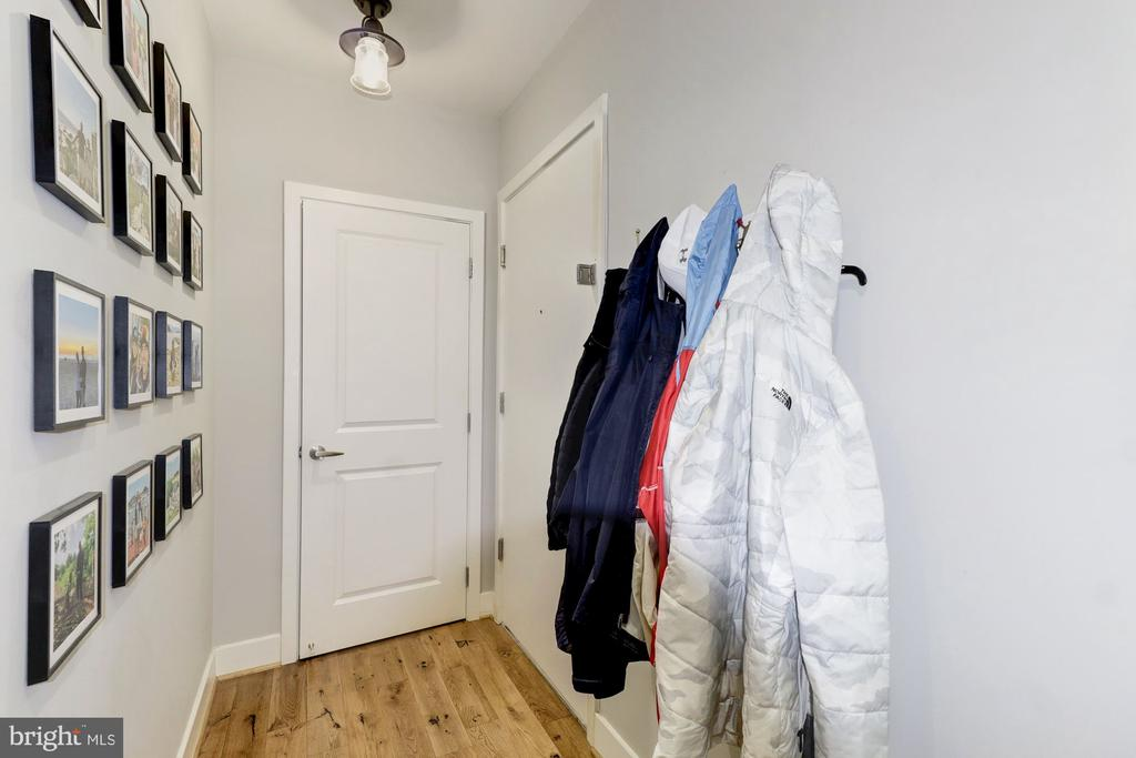 Welcome Entryway with Large Closet for Storage - 1425 11TH ST NW #103, WASHINGTON