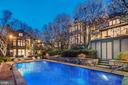 Resort-like private rear gardens, pool+pool house - 4400 GARFIELD ST NW, WASHINGTON