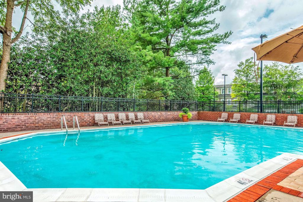 In-Ground Pool at The Chase - 7500 WOODMONT AVE #S208, BETHESDA