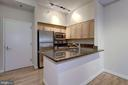 Lovely Gourmet Kitchen Featuring Granite Counterto - 7500 WOODMONT AVE #S208, BETHESDA