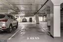 Parking Space - 7500 WOODMONT AVE #S208, BETHESDA