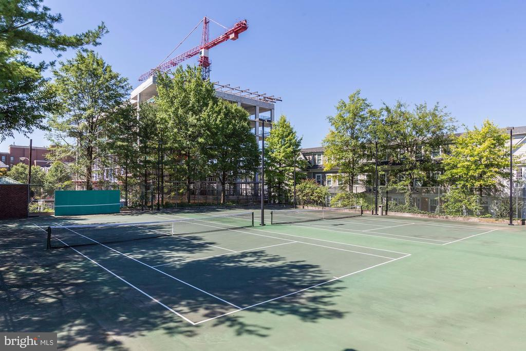 Tennis Courts - 7500 WOODMONT AVE #S208, BETHESDA