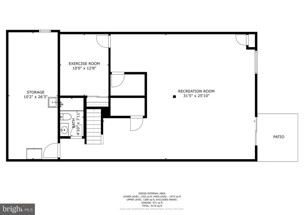 Floor Plan - 10419 GORMAN RD, LAUREL