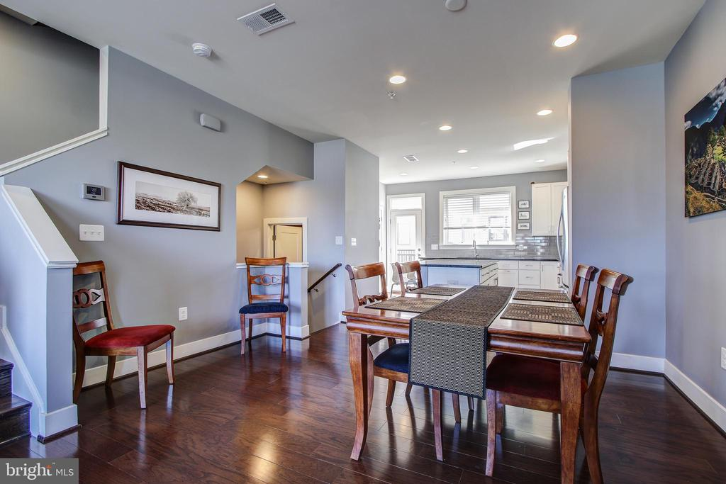 Dining Room - 16636 CRABBS BRANCH WAY, ROCKVILLE