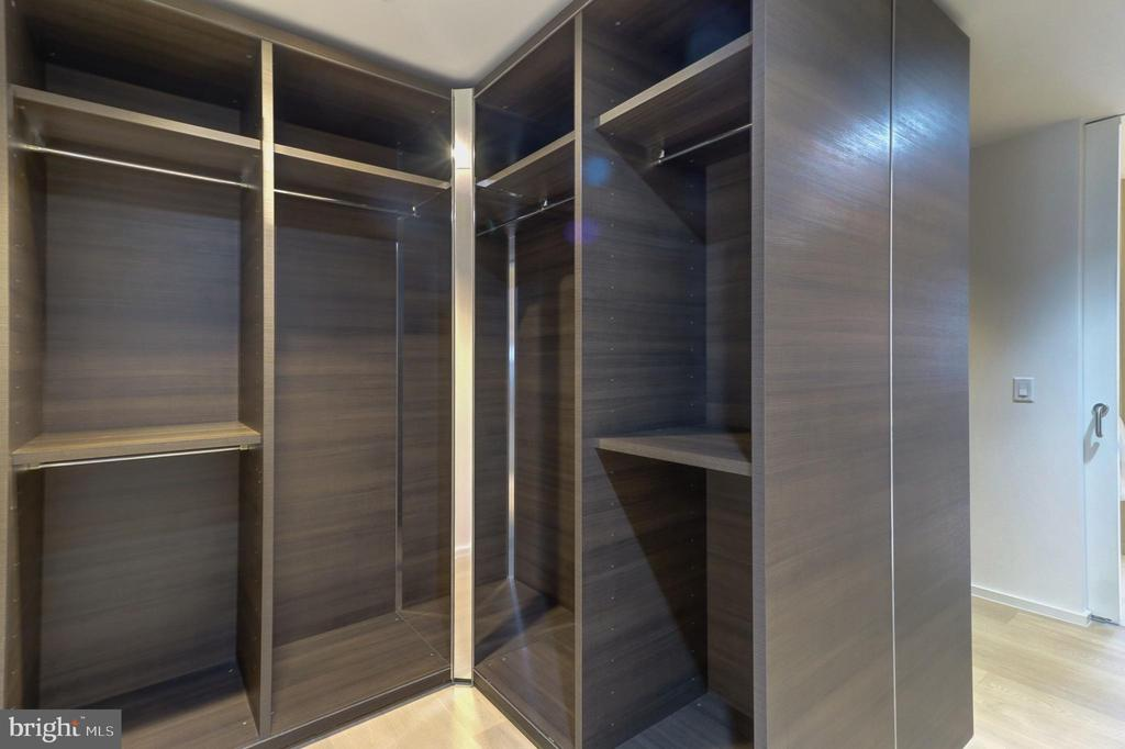 Master Bedroom Walk In Closet - 920 I ST NW #502, WASHINGTON
