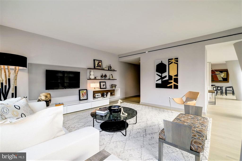 Open Concept Living Room - 1111 24TH ST NW #23, WASHINGTON