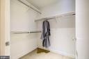 Master Bedroom Closet 2 of 2 - 1111 24TH ST NW #23, WASHINGTON