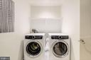 Side By Side Electrolux Washer/Dryer - 1111 24TH ST NW #23, WASHINGTON