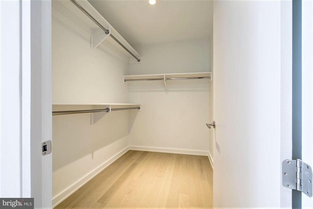 Third Bedroom Closet - 1111 24TH ST NW #23, WASHINGTON