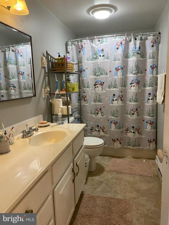 hall bath - 411 E MAIN ST, THURMONT