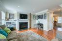 Gas Fireplace - 1819 COTTON TAIL DR, CULPEPER