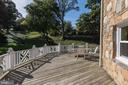 Spacious deck off LL FR overlooks the grounds - 2747 N NELSON ST, ARLINGTON