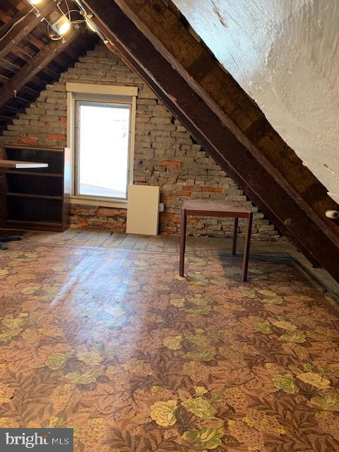 attic with windows and plenty of space - 240 E 2ND ST, FREDERICK