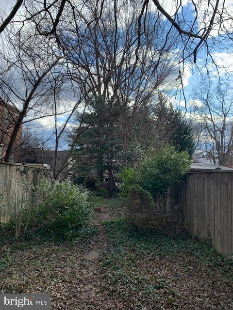 Adorable, fully fenced back yard with potential! - 240 E 2ND ST, FREDERICK