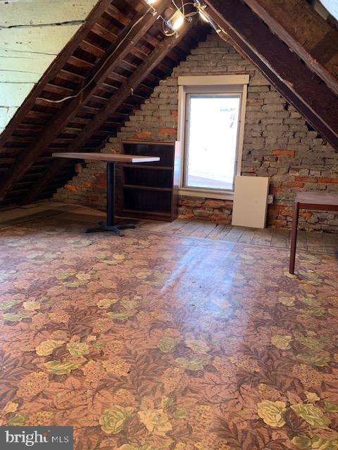 Floored Attic with lighting and plenty of space - 240 E 2ND ST, FREDERICK