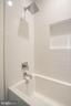 Shared bath, tall square tub, Subway tile - 114 TAPAWINGO RD SW, VIENNA