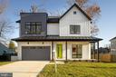 Modern farmhouse - horizontal & vertical siding - 114 TAPAWINGO RD SW, VIENNA
