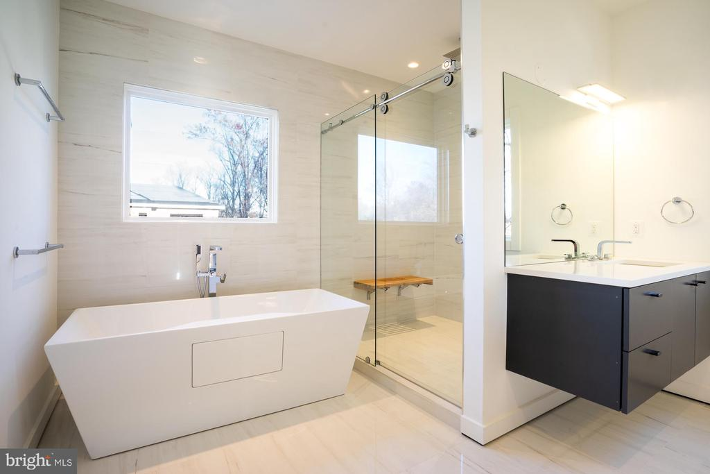 Take a  soak or step in luxury shower, relax - 114 TAPAWINGO RD SW, VIENNA