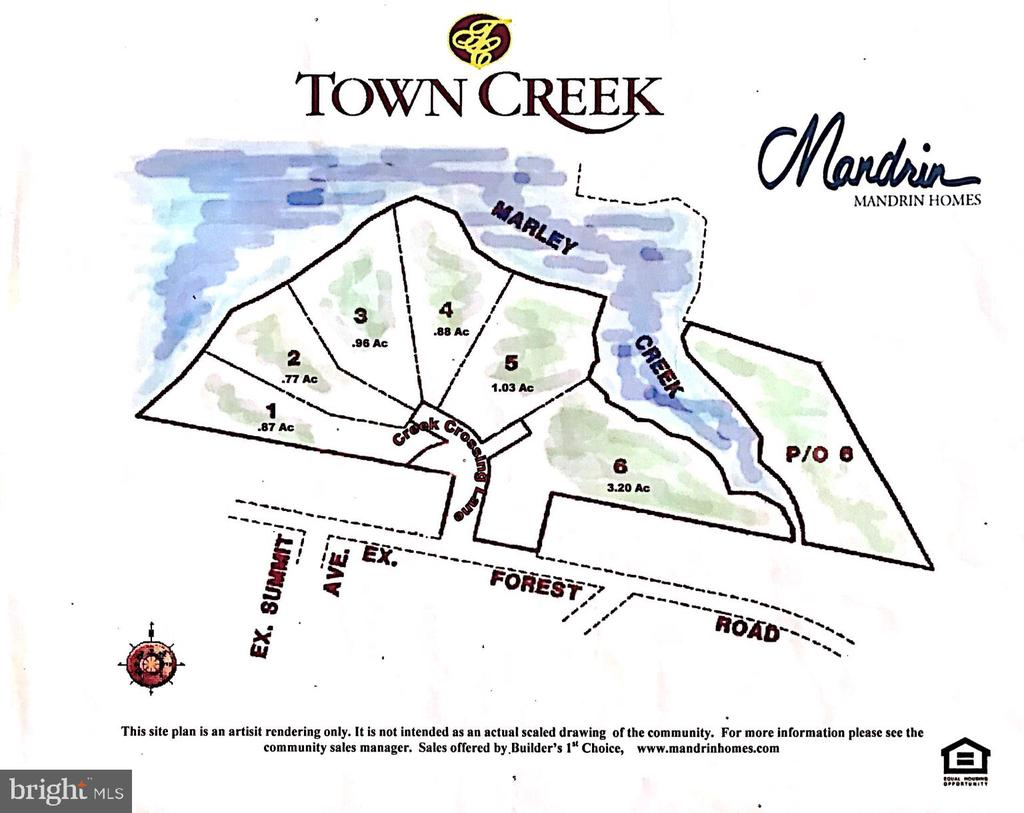 Lot 3 ~ point of the creek, with most frontage 225 - 504 CREEK CROSSING LN, GLEN BURNIE