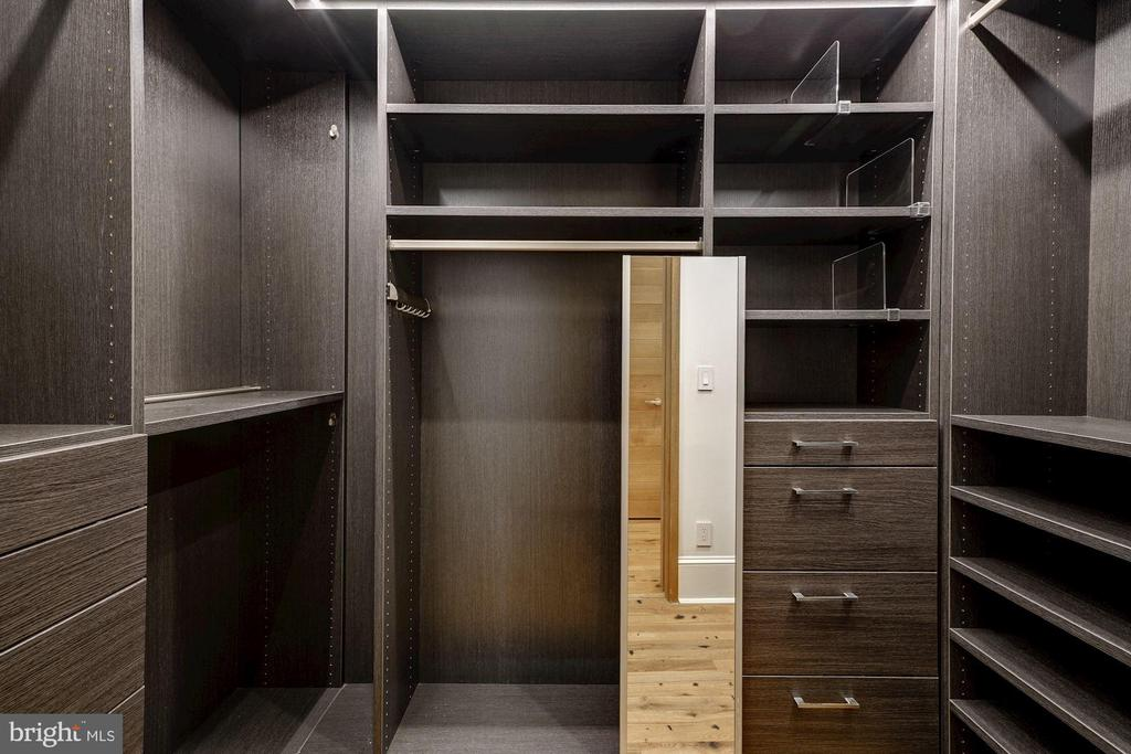 One of two Large Owners' Closets - 2113 S ST NW, WASHINGTON