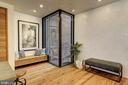 Built-in Bench and Corner Glass Wall - 2113 S ST NW, WASHINGTON