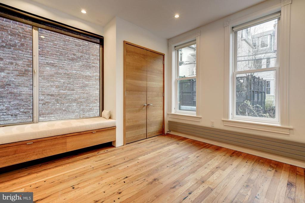 Second Bedroom with Large Picture Window - 2113 S ST NW, WASHINGTON