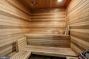 Sauna with Shower - 2113 S ST NW, WASHINGTON
