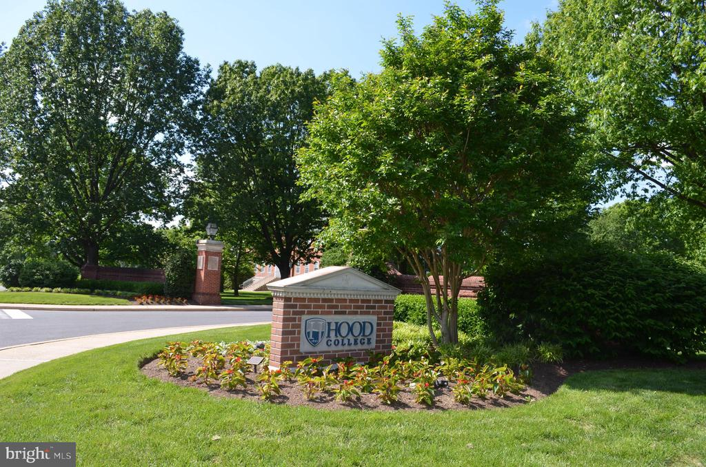 Hood College located in Frederick - 240 E 2ND ST, FREDERICK