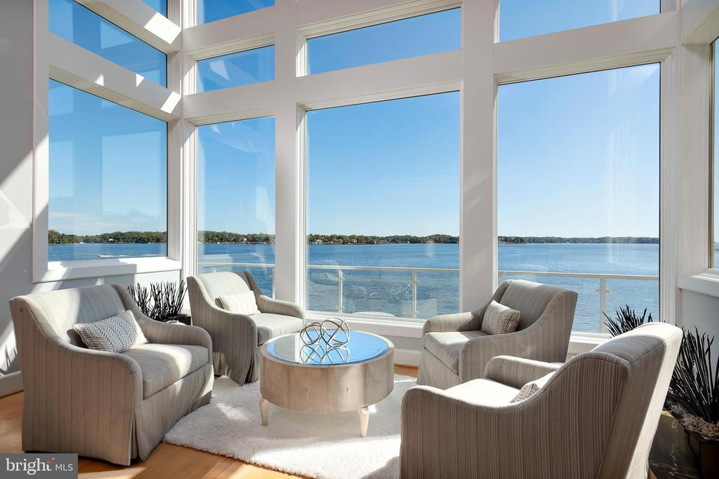 Stunning Living Room views - 740 S RIVER LANDING RD, EDGEWATER