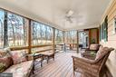 Screened in porch with views of the golf course - 115 GOLD RUSH DR, LOCUST GROVE