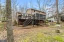 Back deck, screened in porch and walk out basement - 115 GOLD RUSH DR, LOCUST GROVE