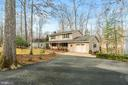 Paved driveway and 1 car garage - 115 GOLD RUSH DR, LOCUST GROVE