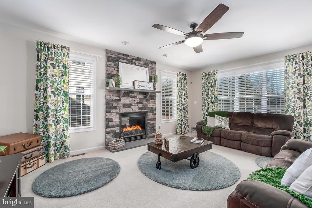 Bright Family with Stone Gas Fireplace - 64 SANCTUARY LN, STAFFORD