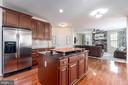 Gourmet kitchen, custom cabinetry, Pantry - 64 SANCTUARY LN, STAFFORD
