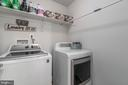 UPstairs Laundry Room  with Washer & Dryer - 64 SANCTUARY LN, STAFFORD