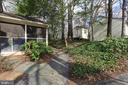 Screened porch and walk way - 9020 SOUTHWICK ST, FAIRFAX