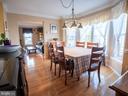 Dining Room - 7045 ALLINGTON MANOR CIR E, FREDERICK