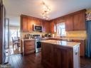 Kitchen Updated 2016 w/ Granite Countertops - 7045 ALLINGTON MANOR CIR E, FREDERICK